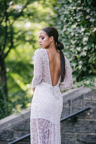 Editorial bridal fashion makeup