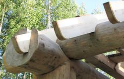 москва деревянный дом из бревна