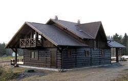 дом из бревна лучшие рубщики