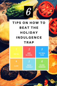 6 tips on how to beat the holiday indulgence trap