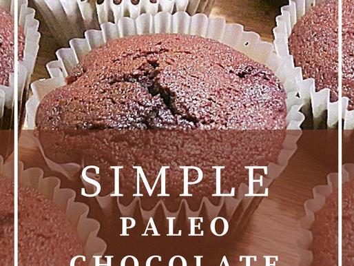 Simple Paleo Chocolate Muffins