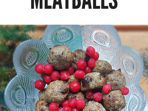 Turkey and Cranberry Meatballs