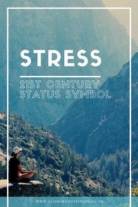 stress 21st century status symbol