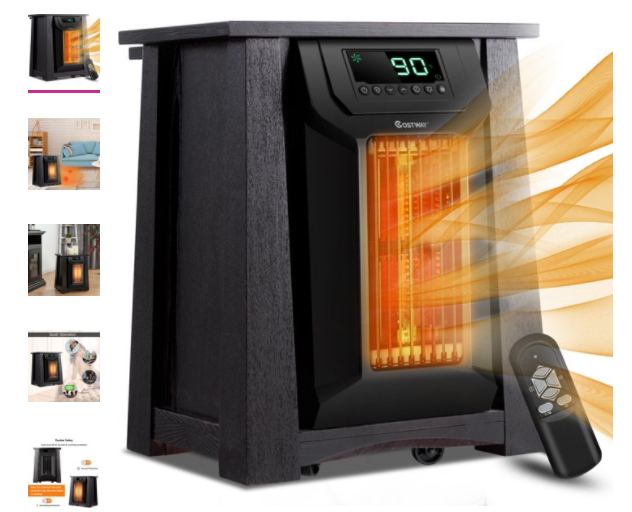 5-Star Infrared Room Heater