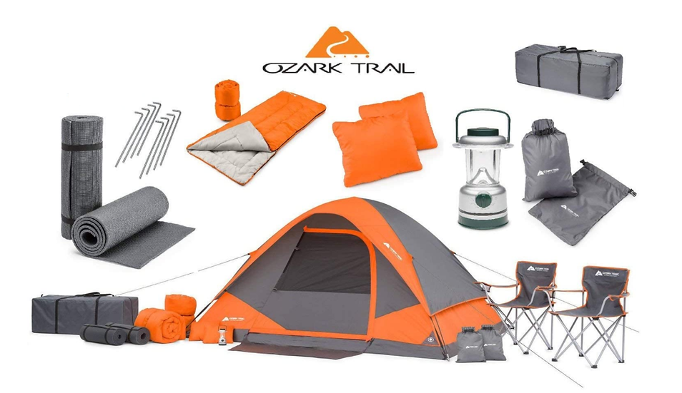 Family Camping Tent Set