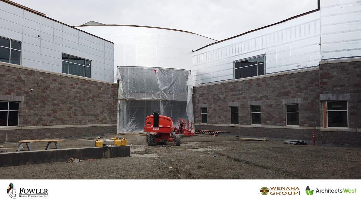 Grandview High School Construction
