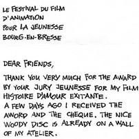 Message d'un réalisateur tchèque