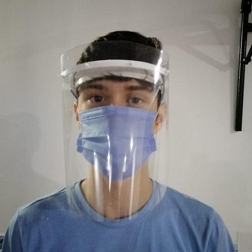 Careta protector facial | paquete de 8 unidades