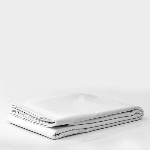 Juego sábanas 144h, ajustable, plana y funda almohada - Distrihogar
