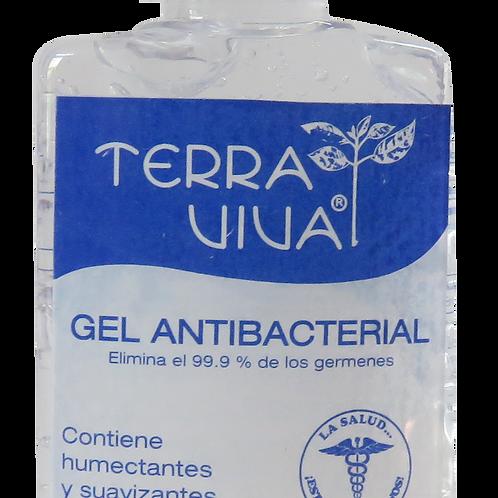 Gel antibacterial Terra Viva de 44 ml, 60% alcohol - Caja de 24 unidades
