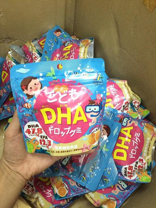 Kẹo DHA cho bé vị cam