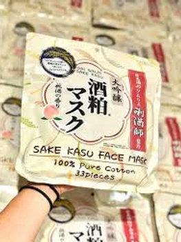 Mặt nạ Sake kasu nội địa nhật bản gói 33 miếng