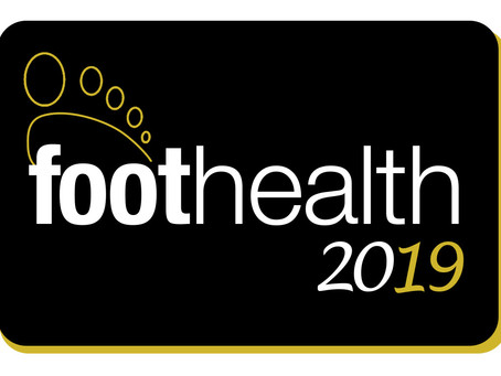 Come and Visit our stand at Foothealth 2019