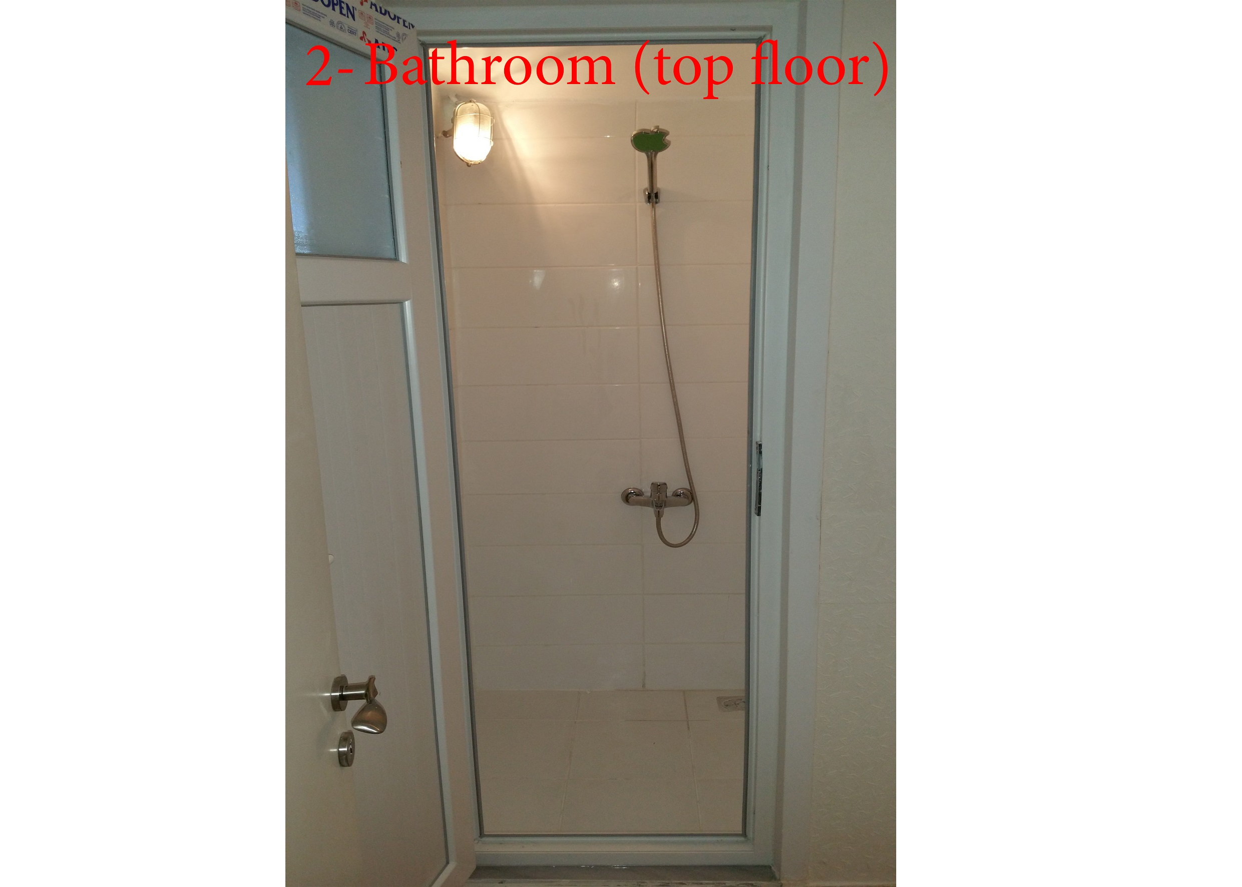 4th Floor Shower