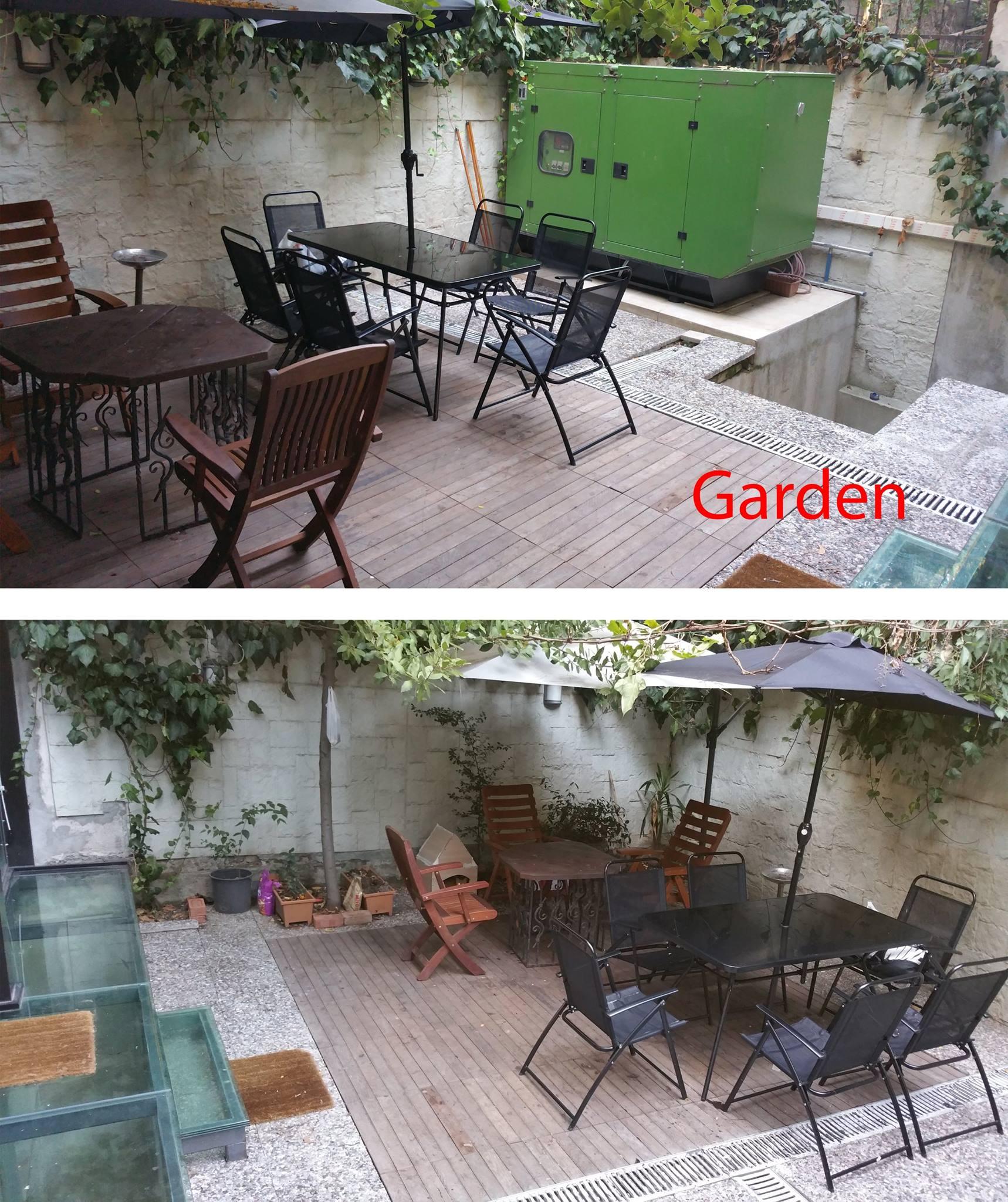 Roncalli Building Gardeng