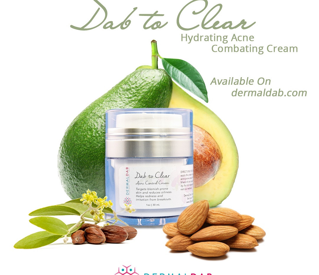 Dermal Dab Product Ad
