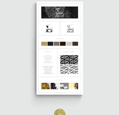 Leesi Photography Branding Board
