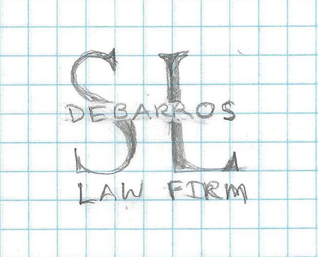 SL DeBarros Logo Sketch Draft