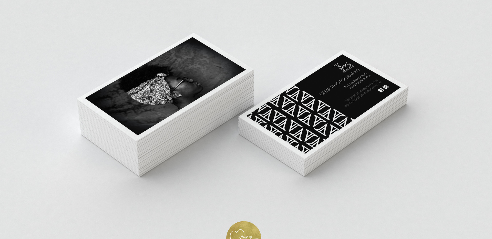 Leesi Photography Business Cards