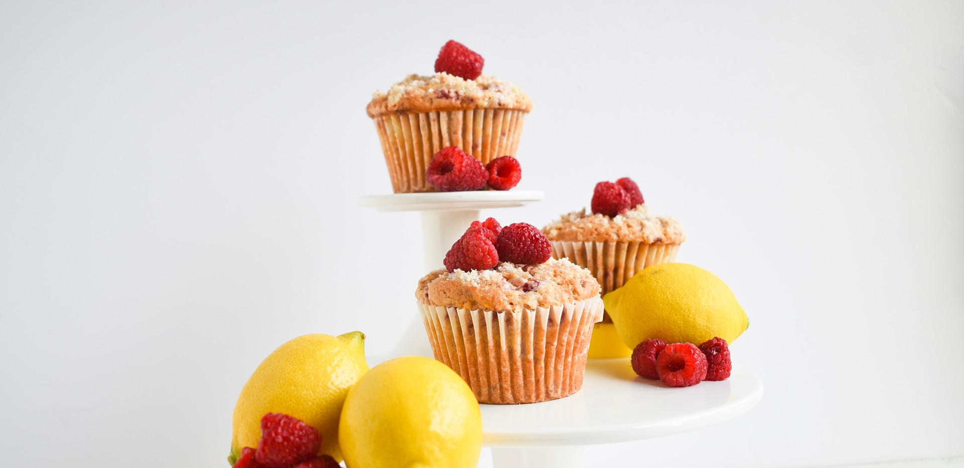 Raspberry Lemon Muffins