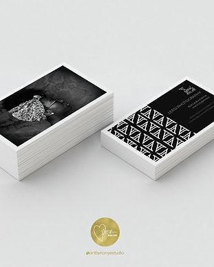 LeesiPhotography Business Card Card Mock
