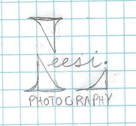 Logo Sketch for Leesi Photography