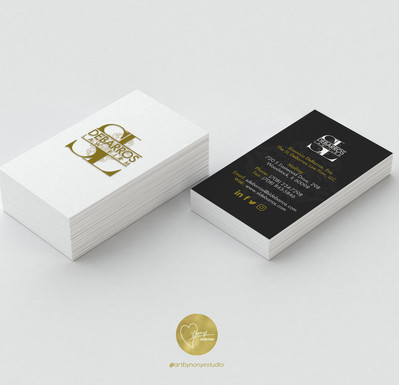 SL Debarros Business Card Design