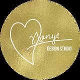 Art by Nonye Studio Logo Button Gold.png