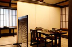 食事処個室テーブル席へ改装