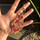 Thumbnail: Pressed Flower Gold Keychain