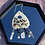 Thumbnail: Planchette Crystal Wall Hanging