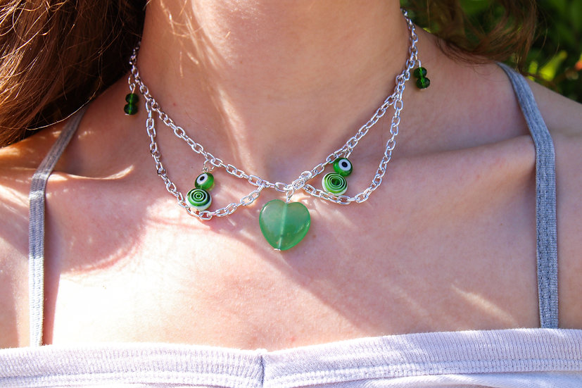 Feeling Green Necklace
