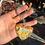 Thumbnail: Pikachu Heart Keychain