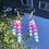 Thumbnail: Custom Beaded Word Earrings