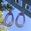 Thumbnail: Sparkly Oval Hoops