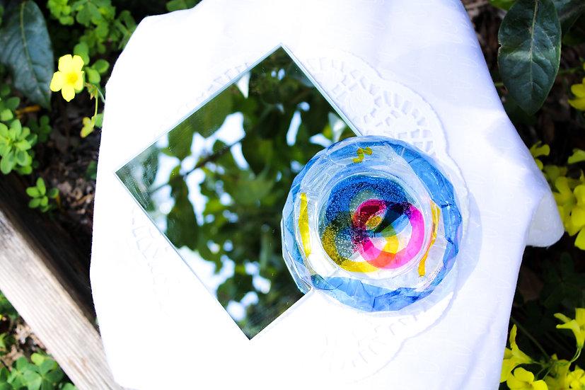 Colorful Circle Ashtray