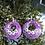 Thumbnail: Custom Word Resin Earrings