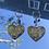Thumbnail: Pikachu Heart Keychains