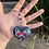 Thumbnail: Black Butterfly Keychain
