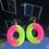 Thumbnail: Watermelon Ring Earrings