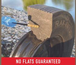 Patented Flat Rib Flat-free Tires