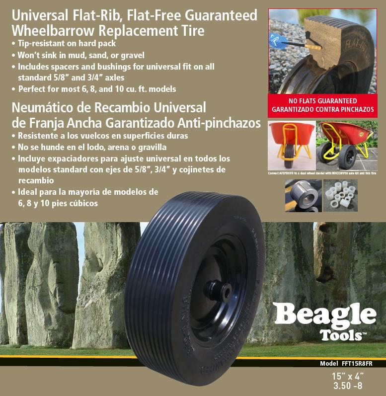 Patented Flat Free Tires