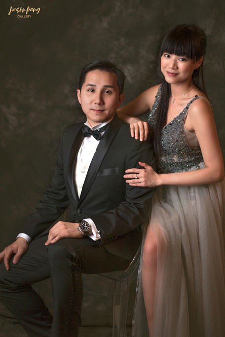 Pre Wedding Studio HK Oil Painting