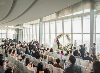 <😍完美婚禮拍攝 Ritz Carlton Sky 100 Wedding. Perfect Wedding>