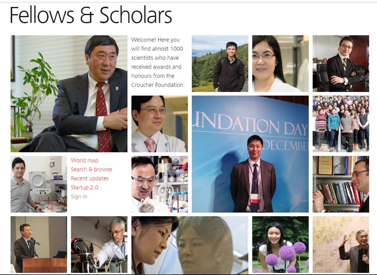 Award Receiving Scholars