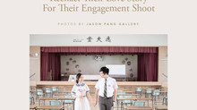 These High School Sweethearts Reenact Their Love Story For Their Engagement Shoot
