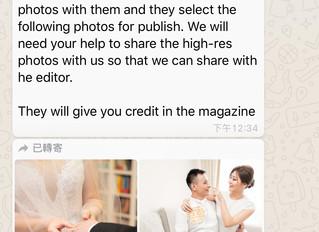 🎉<Getting featured on Cosmopolitan Bride soon><我們嘅作品即將登上Cosmopolitan Bride>🍾️🍾️🥳🥳🤩