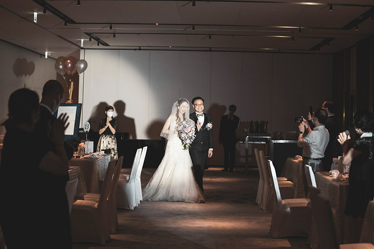 Wedding Photography Videography with Bride and Groom Smiling Happily