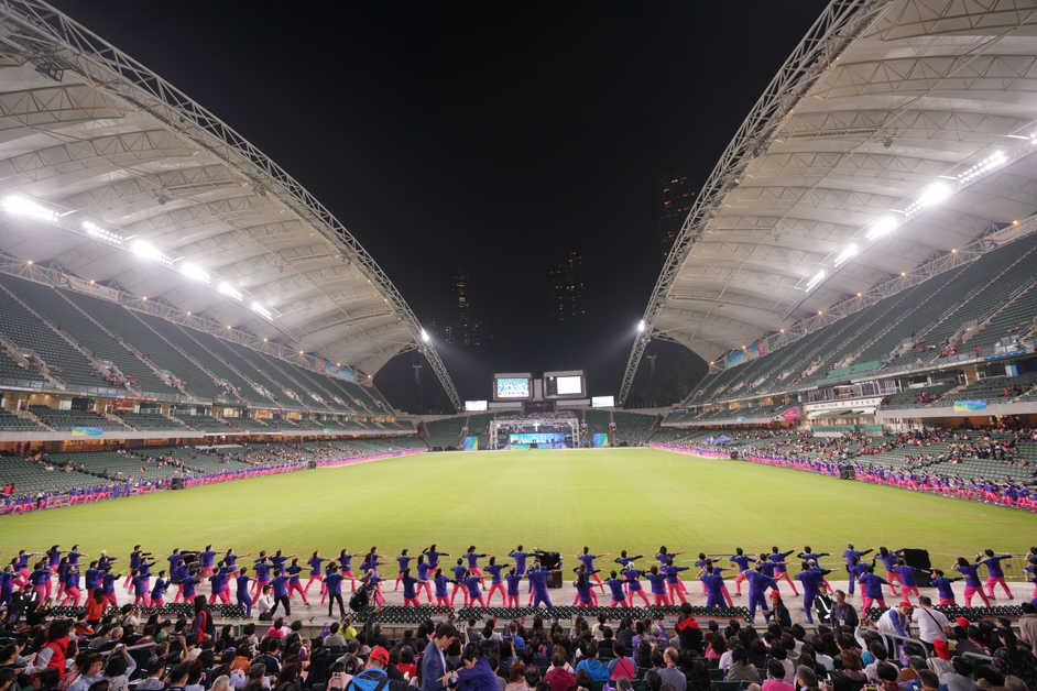 Large Event in Outdoor Stadium Hong Kong