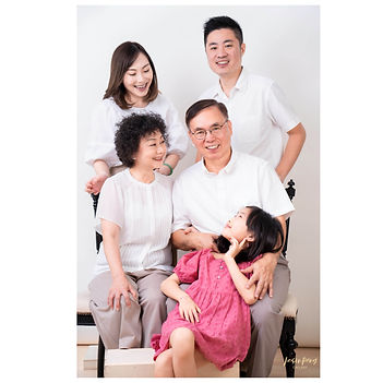 Studio Family Photography in Hong Kong of a family of five!